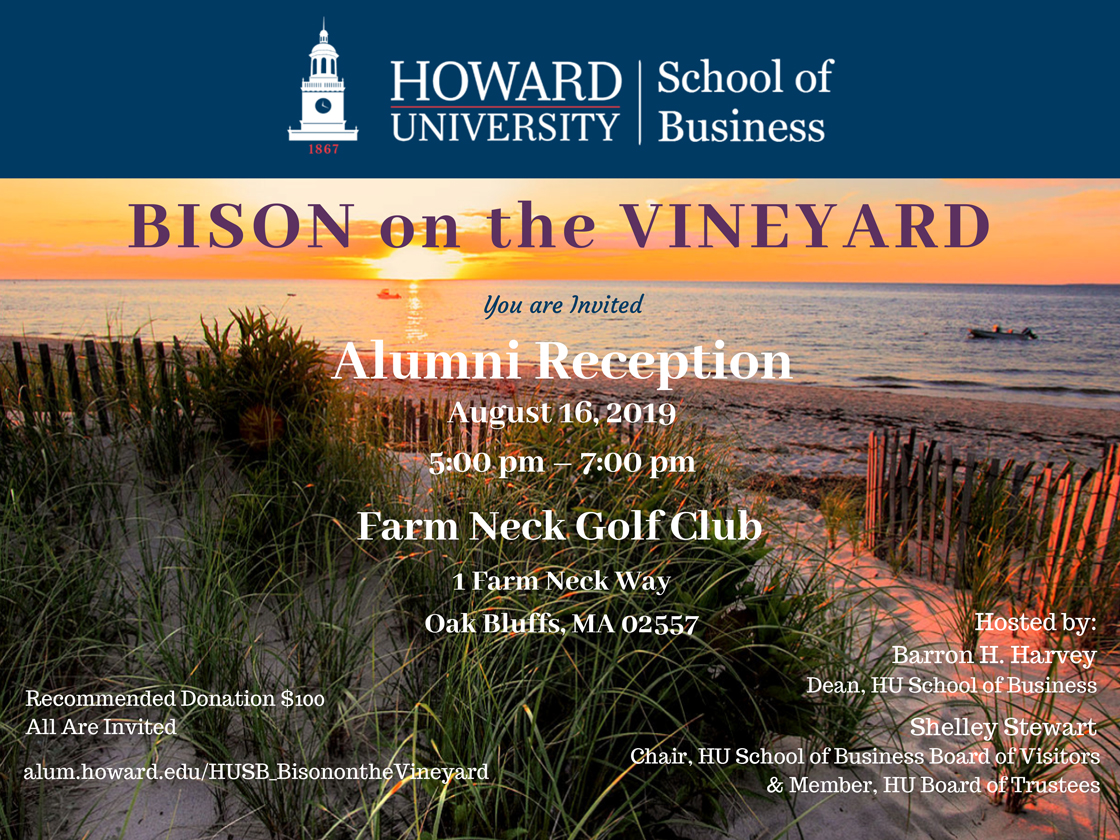 HUSB Bison on the Vineyard 2019 Registration is Open